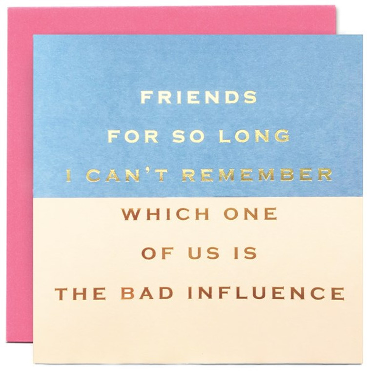 Friends For So Long Greetings Card
