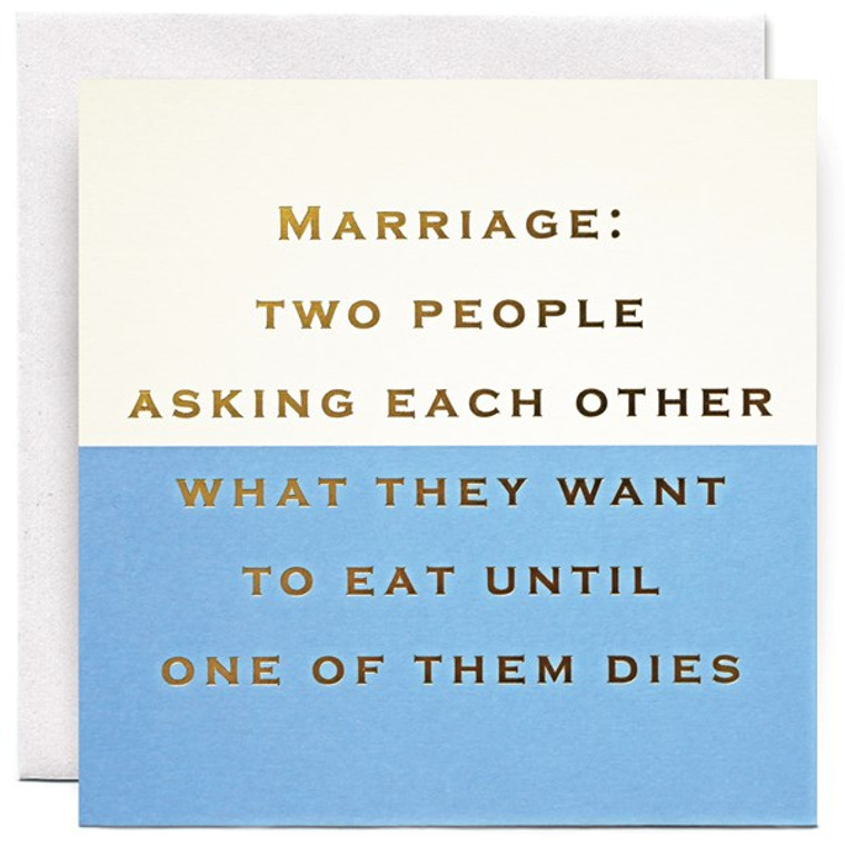 Marriage Greetings Card