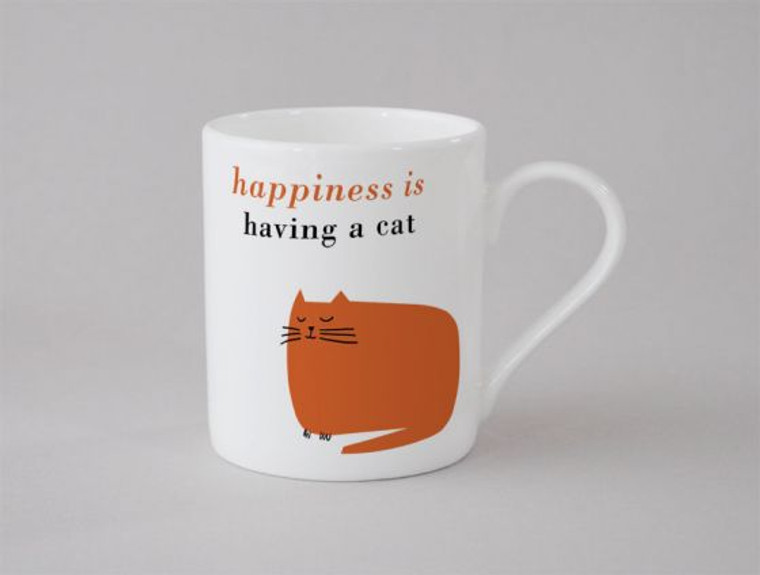 Small Catnap Mug Orange