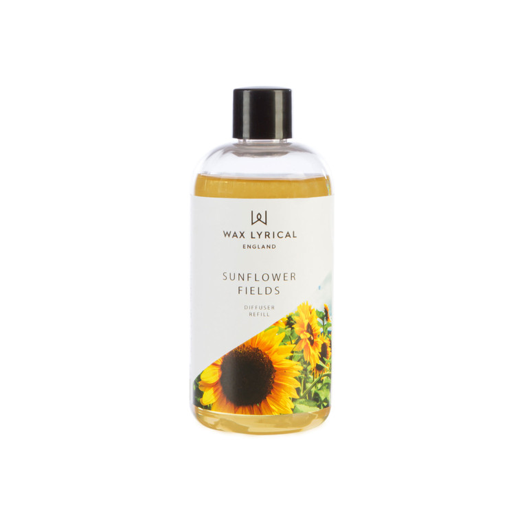 NEW for 2020 Wax Lyrical SUNFLOWER 200ml Reed Diffuser Refill