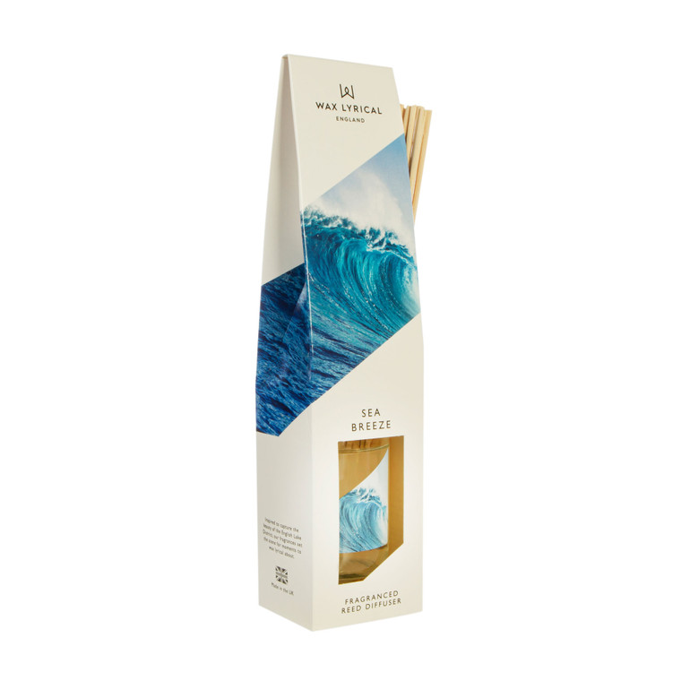 NEW for 2020 Wax Lyrical SEA BREEZE 100ml Reed Diffuser