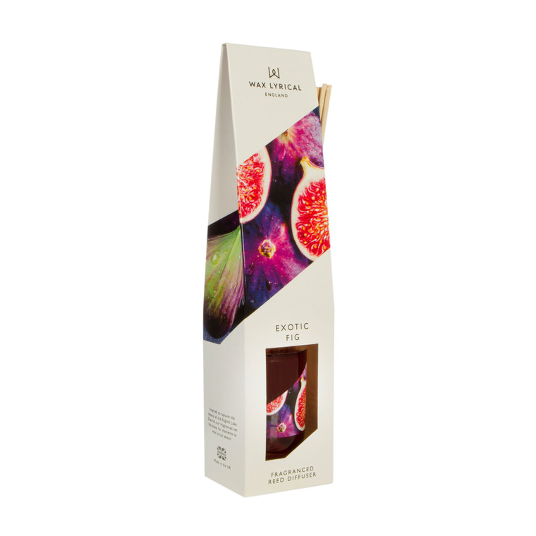 NEW for 2020 Wax Lyrical EXOTIC FIG 100ml Reed Diffuser