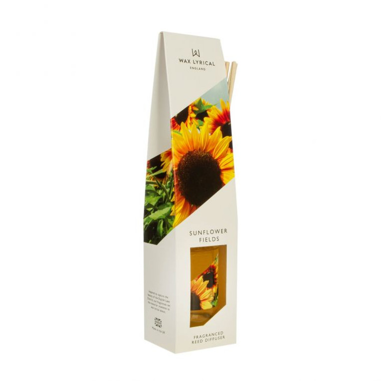 NEW for 2020 Wax Lyrical SUNFLOWER 100ml Reed Diffuser