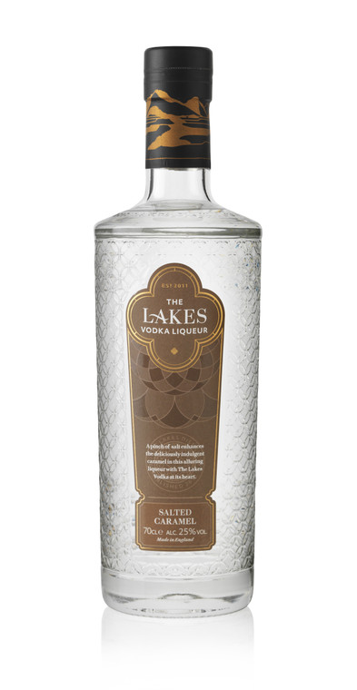 NEW 2020 The Lakes Distillery - The Lakes Salted Caramel Vodka Liqueur