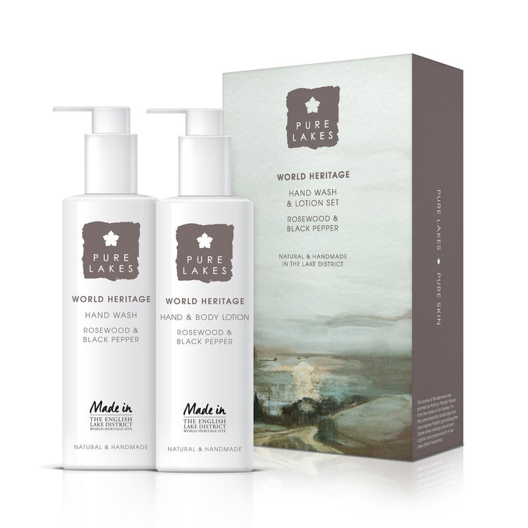 Pure Lakes World Heritage Rosewood & Black Pepper Gift Set