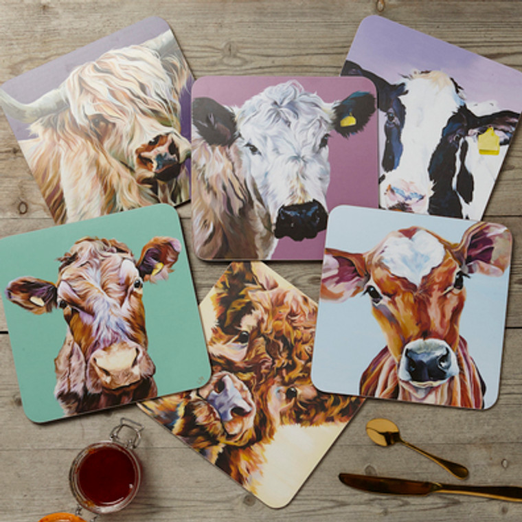 Lauren's Cows Place mat set