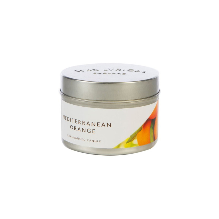 NEW for 2020 Wax Lyrical Mediterranean Orange Candle Tin
