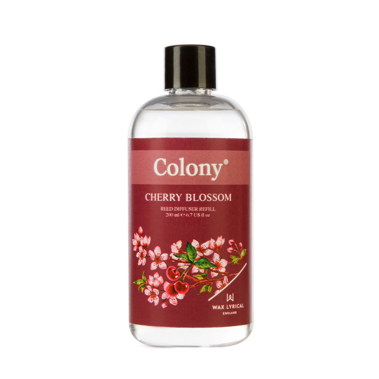 Wax Lyrical Colony Cherry Blossom 200ml Reed Diffuser Refill