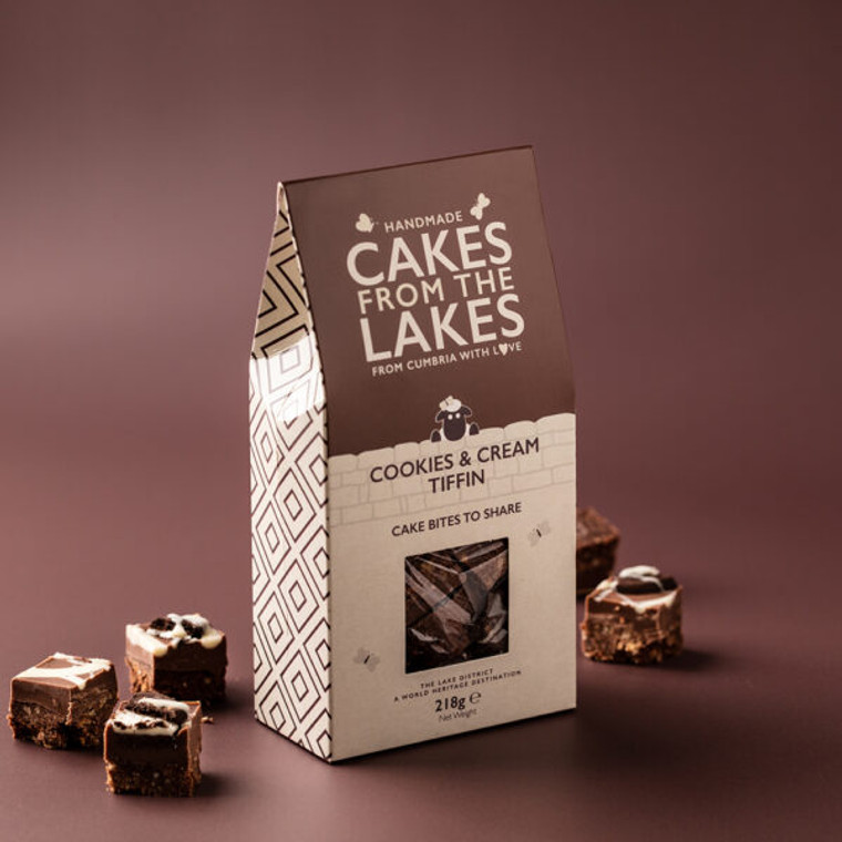Cakes from The Lakes Cookies & Cream Tiffin