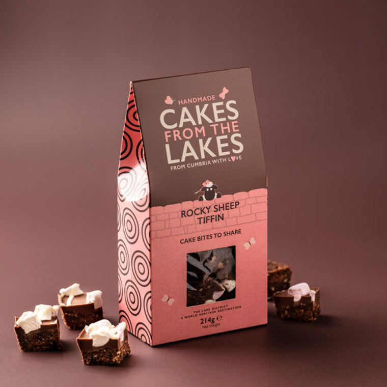 Cakes from The Lakes Rocky Sheep Tiffin