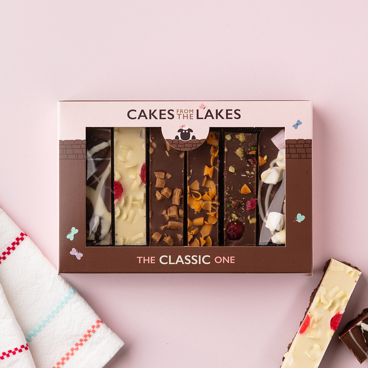 Cakes from The Lakes Tiffin Gift Box Classic