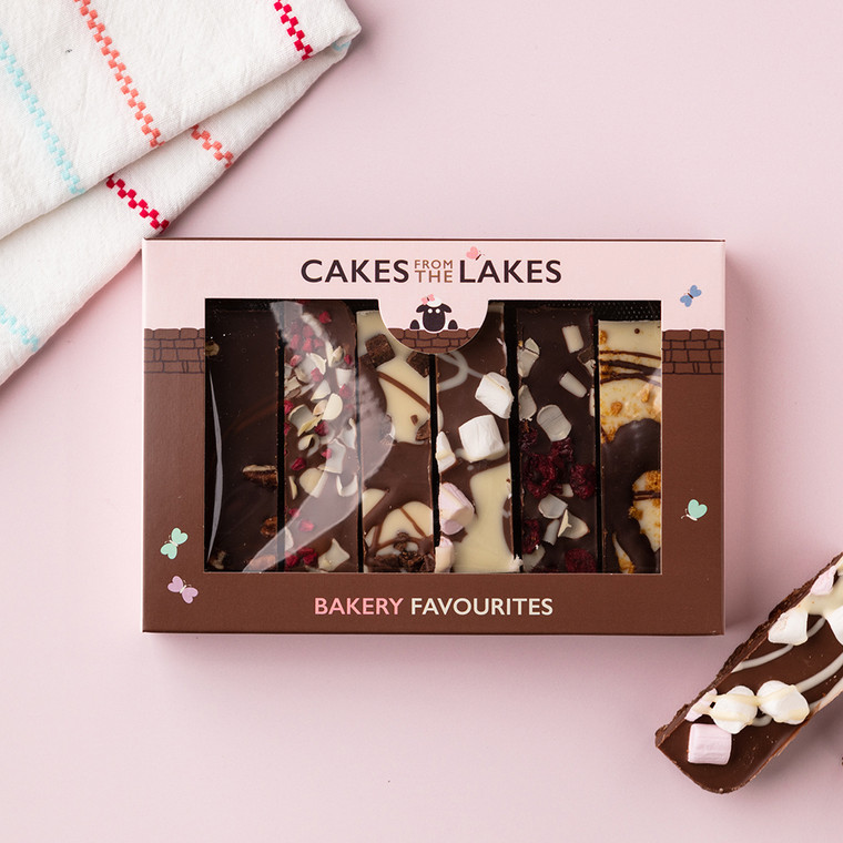 Cakes from The Lakes Tiffin Gift Box Bakery Favourites