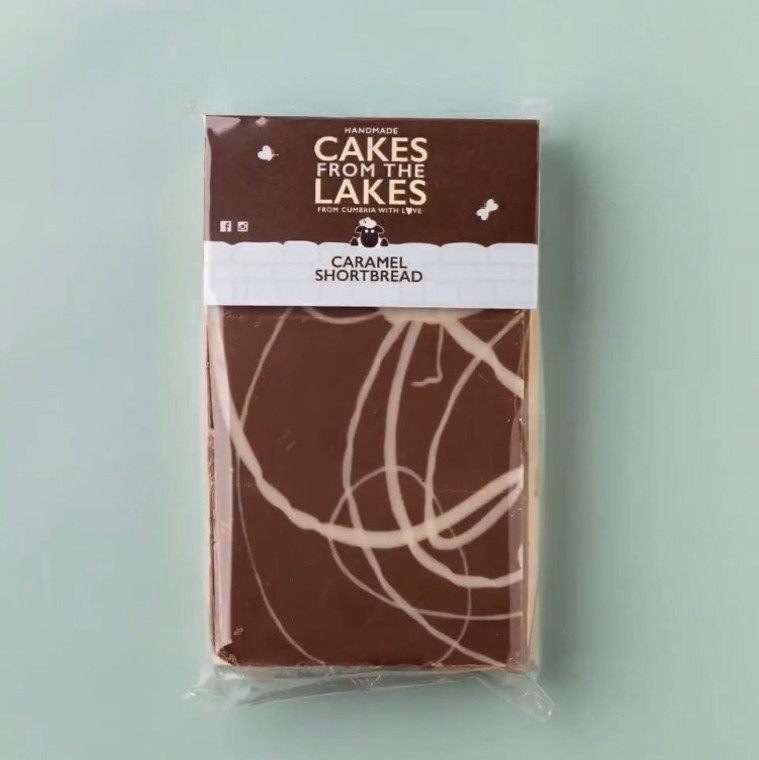 Cakes From The Lakes Millionaire Caramel Tiffin Sharing Slab