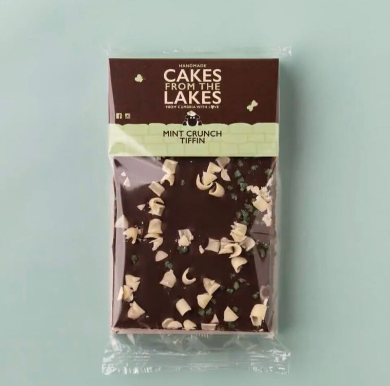 Cakes From The Lakes Mint Crunch Tiffin Sharing Slab