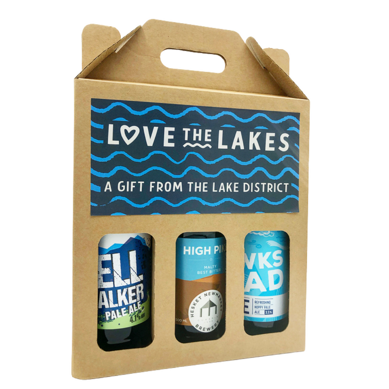 Beer Box Gift Set Of 3 Local Ales