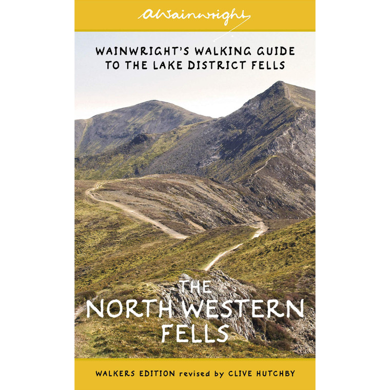 Wainwright's Illustrated Walking Guide To The Lake District Fells: The North-Western Fells Book 6 (Wainwright Walkers Edition)