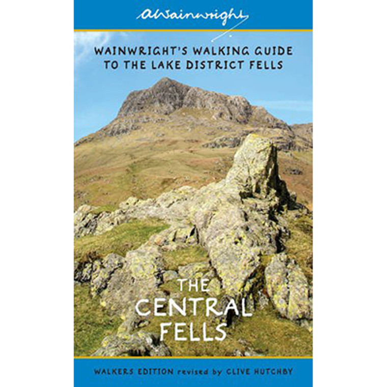 Wainwright's Illustrated Walking Guide To The Lake District Fells: The Central Fells Book 3