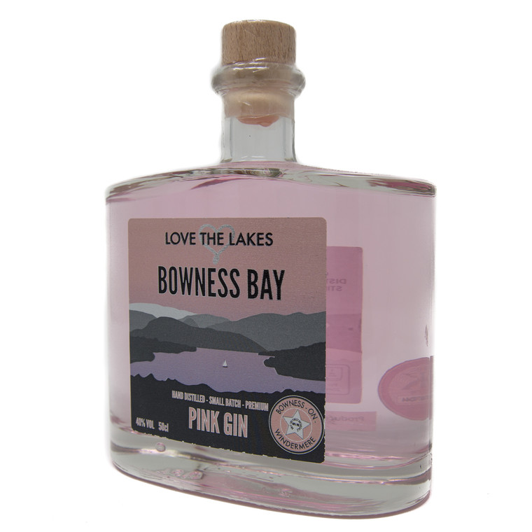 Love the Lakes Bowness Bay Pink Gin