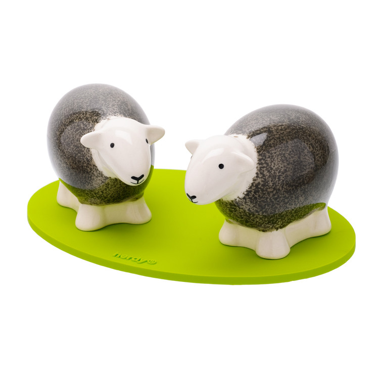 Herdy Salt and Pepper Shakers - Grey