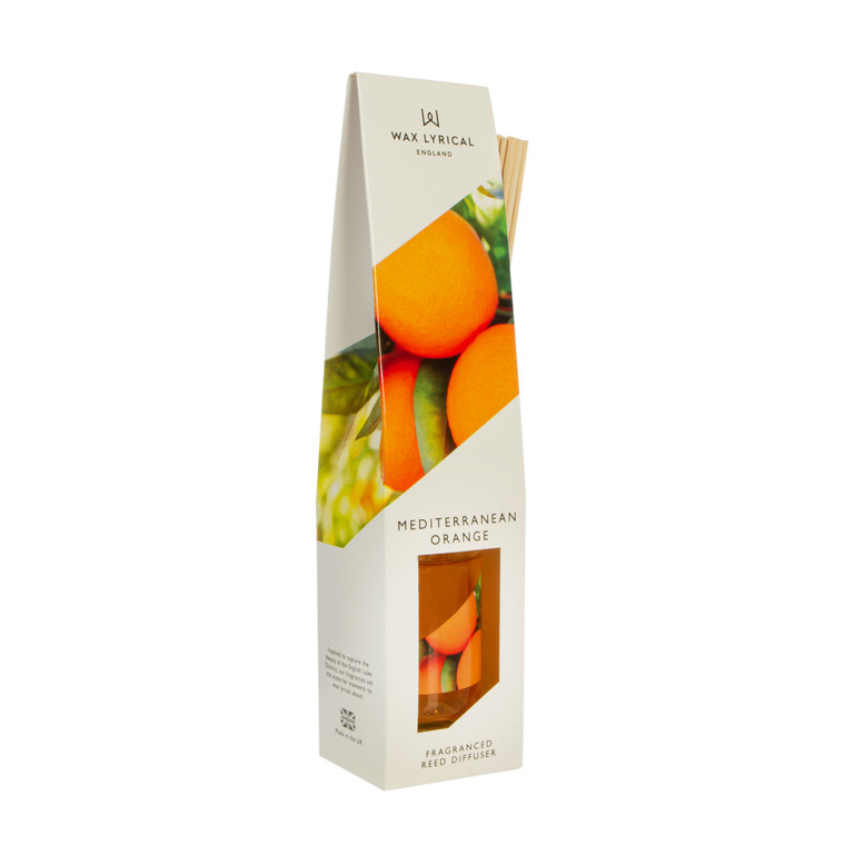 NEW for 2020 Wax Lyrical MEDITERRANEAN ORANGE 100ml Reed Diffuser