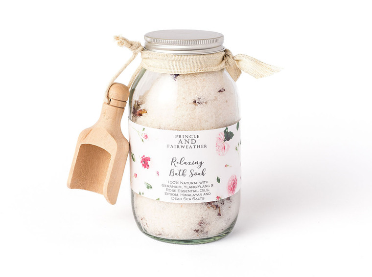 Geranium, Ylang Ylang and Rose Bath Spa