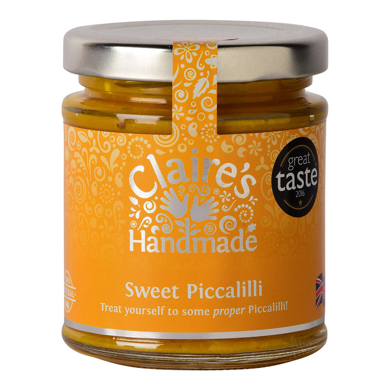 Claire's Handmade Sweet Piccalilli