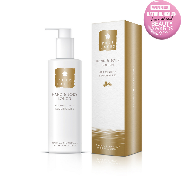 Pure Lakes Grapefruit and Lemongrass Hand and Body Lotion