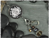Horse Reversible Circular Charm and Bead Pendant
