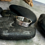 Create Stainless Quote Ring