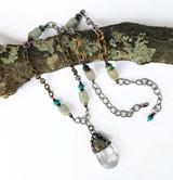 Statement Soldered Gemstone Necklace