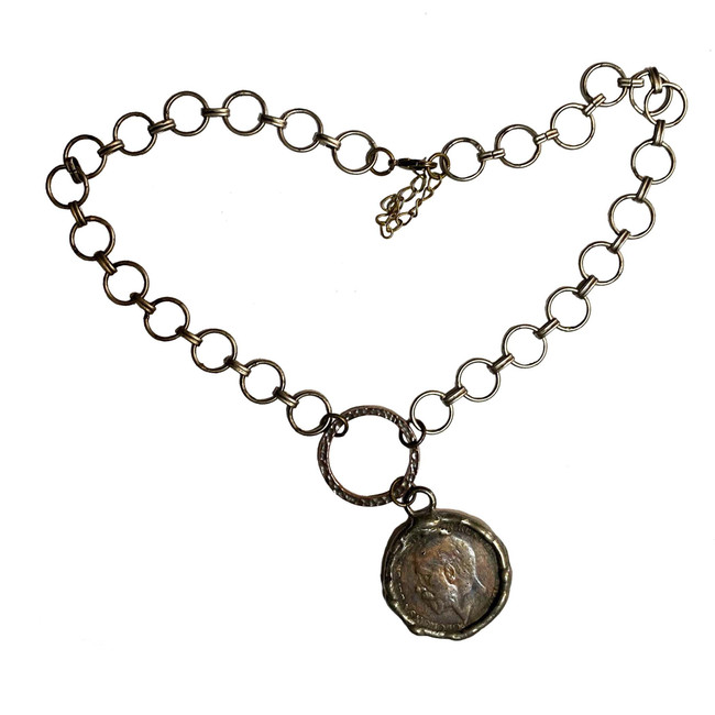 Go Big Chain & Coin Necklace