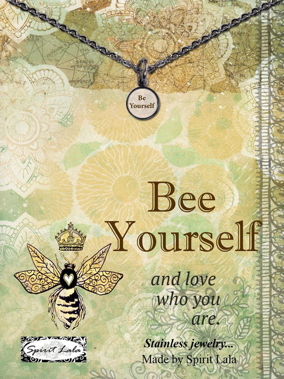 Carded Be Yourself Small Circle Necklace