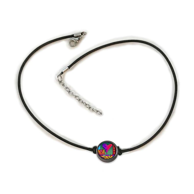 Wild Heart Choker Necklace