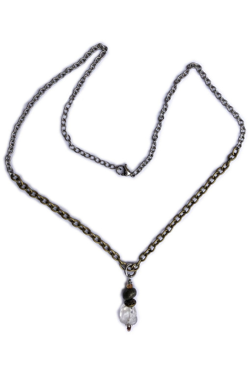 """18"""" Layering Chunky Bead Necklace"""
