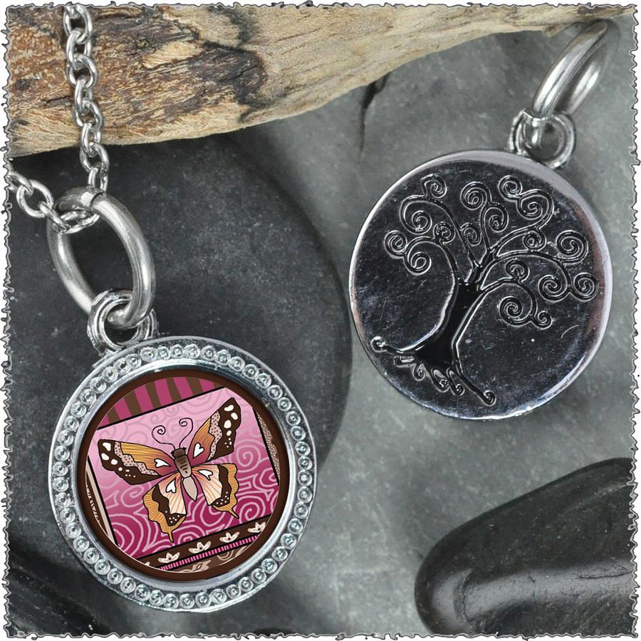 """Butterfly """"Tree"""" Pendant"""