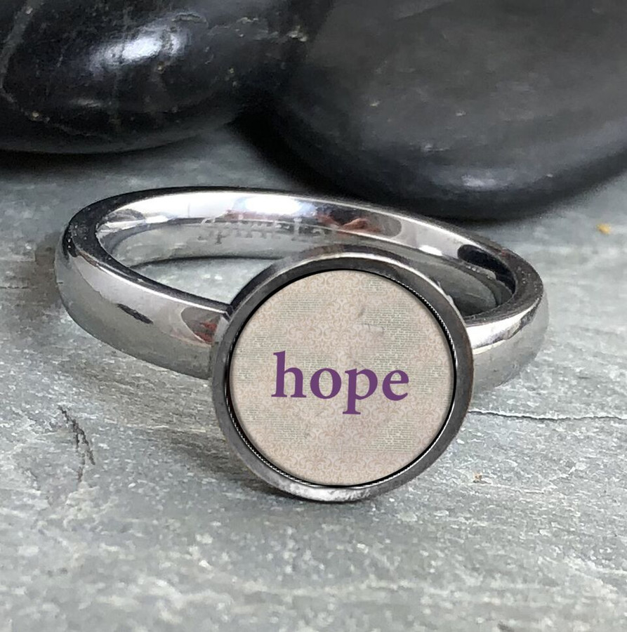 Hope Stainless Art Ring