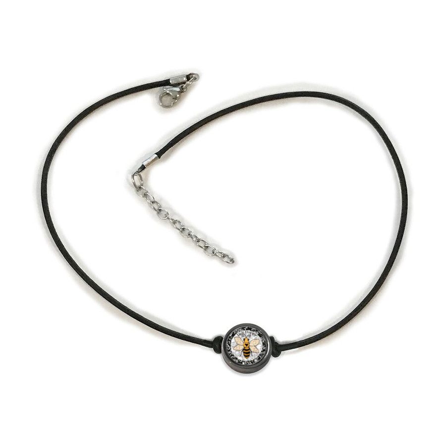 Bee Happy Choker Necklace