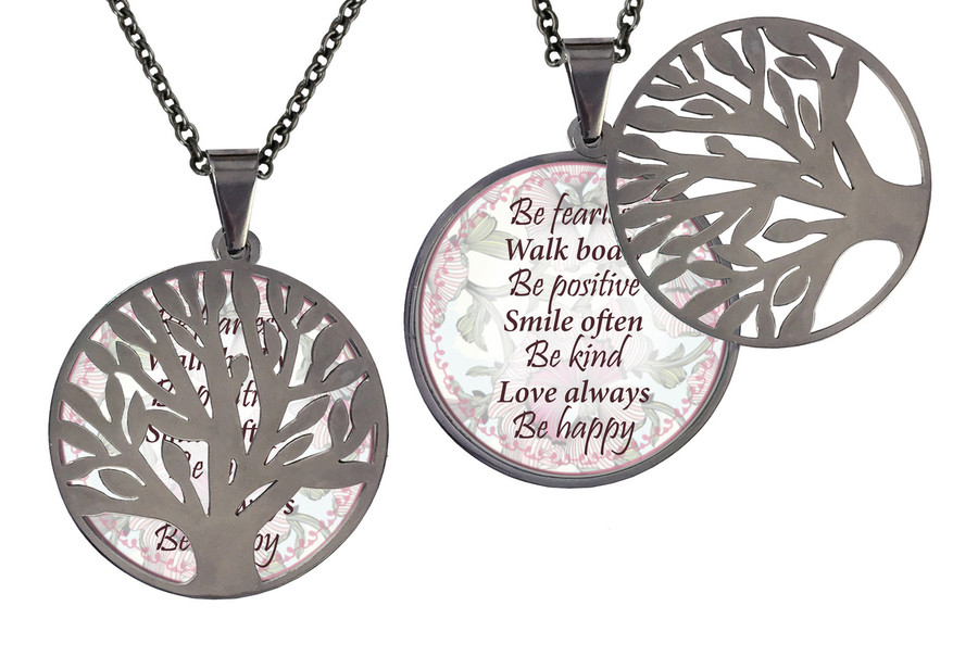 Poetry Tree- Be Fearless Walk Boldly