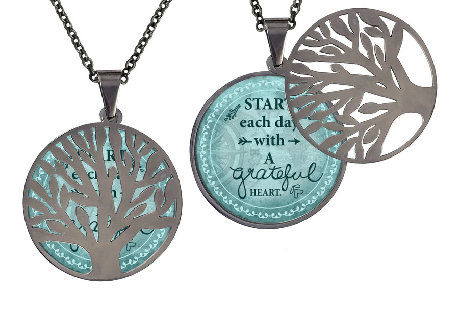 Poetry Tree- Start Each Day With a Grateful Heart