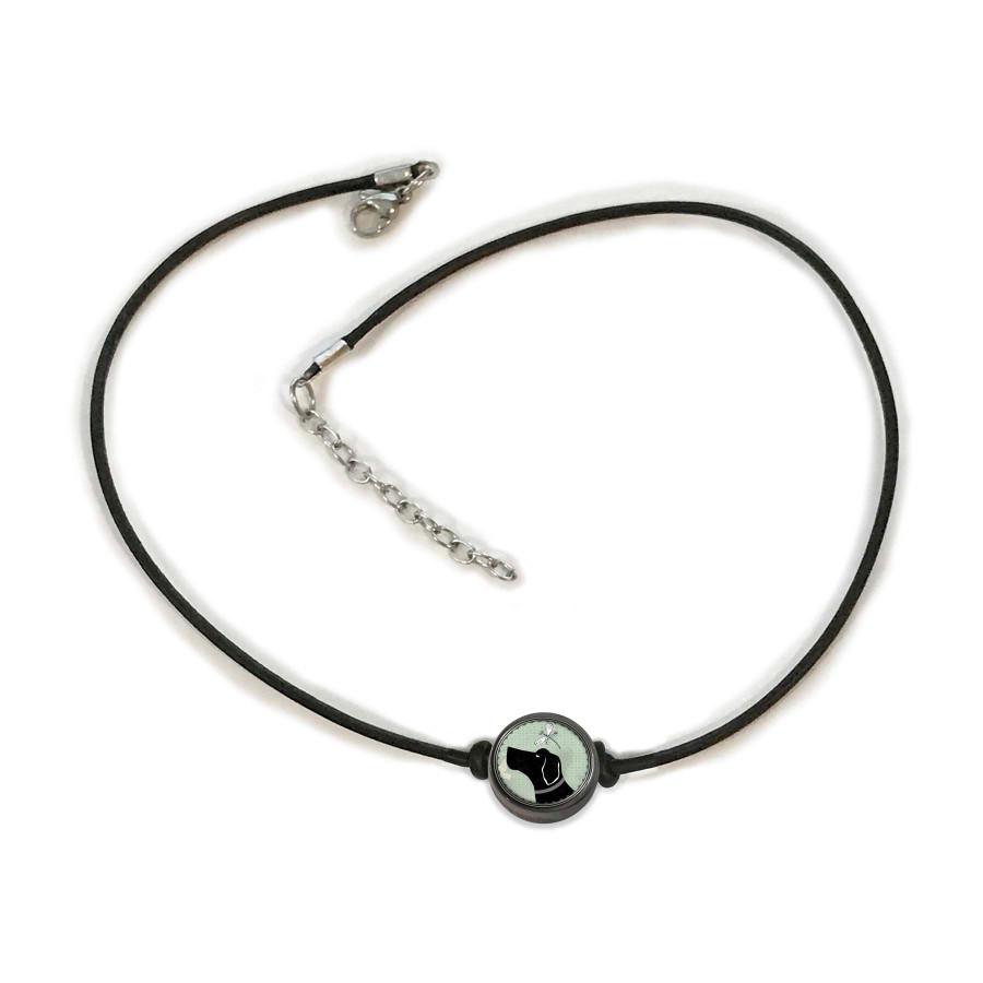 Vintage Dog Choker Necklace