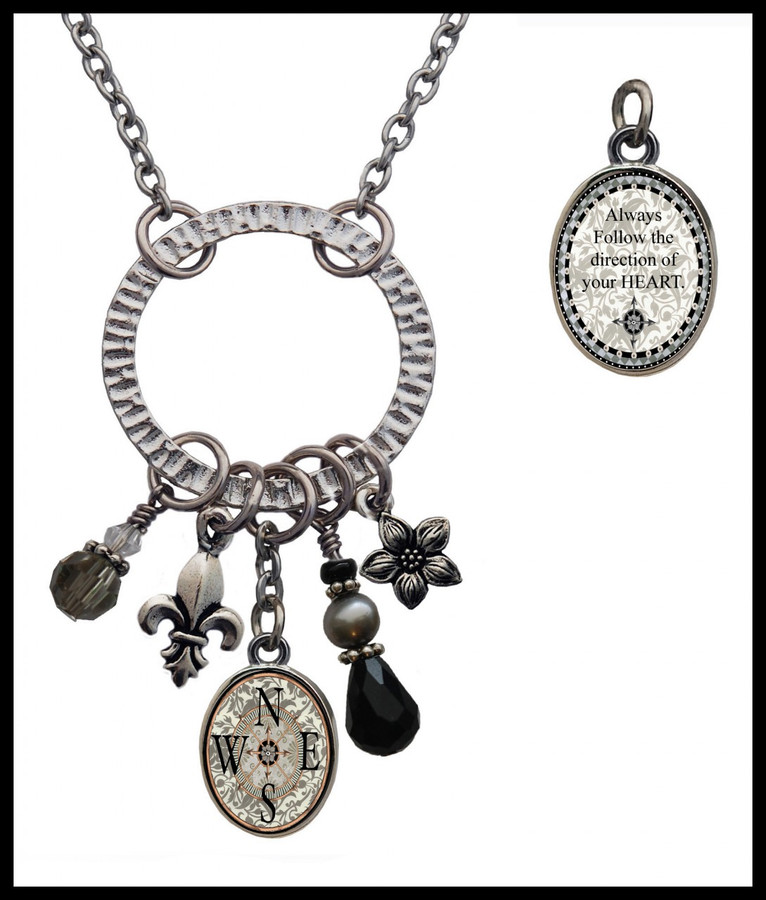 Compass Pewter Circle of Life