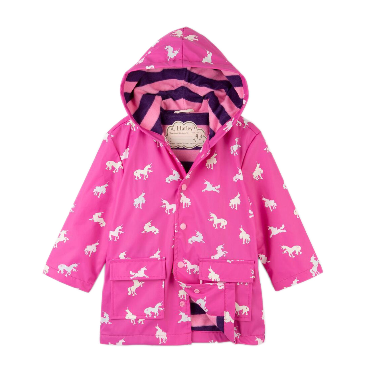 d80e3e76a22c Hatley Polka Dot Apples Classic Raincoat