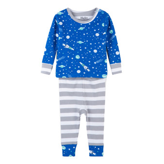 Hatley Outer Space Baby Winter Pyjamas (Size 9-12 Months)