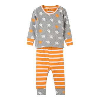Hatley Silhouette Dragons Baby Winter Pyjamas (Size 9-12 Months Sample)