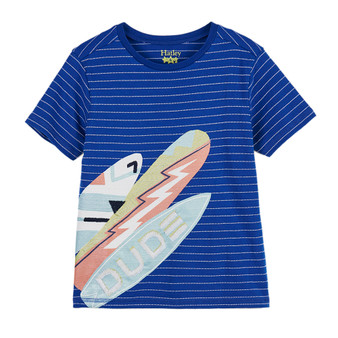 Hatley Surf Dude Graphic Tee (Size 4 Years Sample)