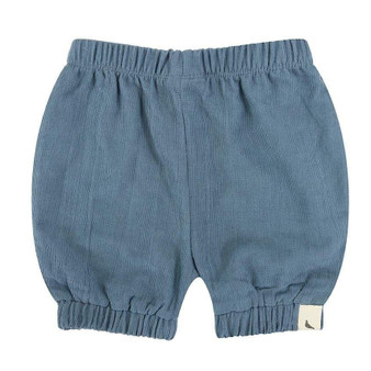 Turtledove Organic Cotton Dusty Blue Pincord Bloomers (Sample Size 0-6m &  3-6m)