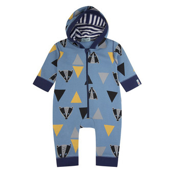 Lilly & Sid Badger Outersuit (NB-24M)