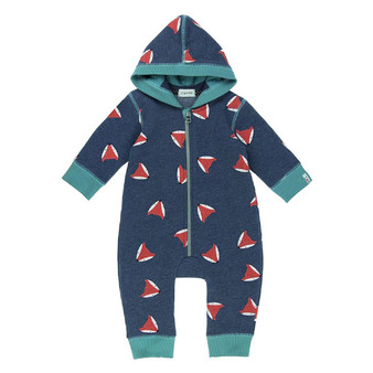 Lilly & Sid Fox Fleece Outersuit (NB-12M)