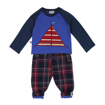 Lilly & Sid Sailboat Set (NB-12M)