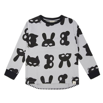 Turtledove Animal Mask Sweater (NB-3Y)